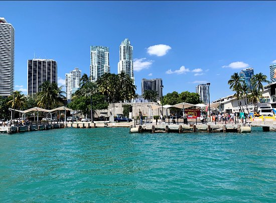 Water Taxi Miami: Bayfront Park Stop