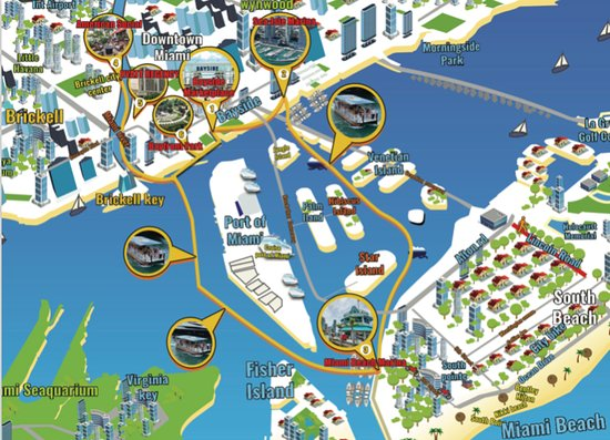 Water Taxi Miami: Our newest Map
