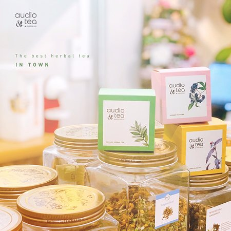 Com tam cot dua by Audio & Tea: You will find the best organic herbal tea in town here.