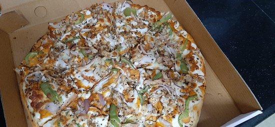 iPizza- tandoori paneer pizza