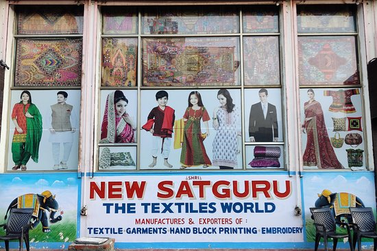 ‪Shri New Satguru - The Textile World‬