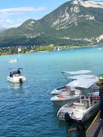 Lac d'Annecy et vieux Annecy