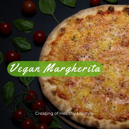 This is Vegan Margherita 🍕❤️ Freshly made in-house, delivered to yours! Many more options are available! Call us now on 020 7055 3733 or SEE more other options on www.caloroso.co.uk