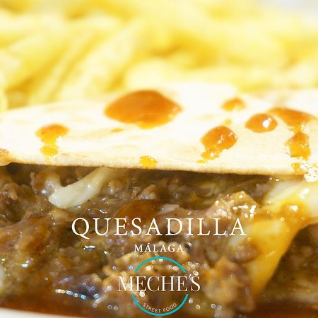 Meche's Street Food: Quesadilla Streetfood Comida internacional Cócteles Málaga Centro 951 993 013