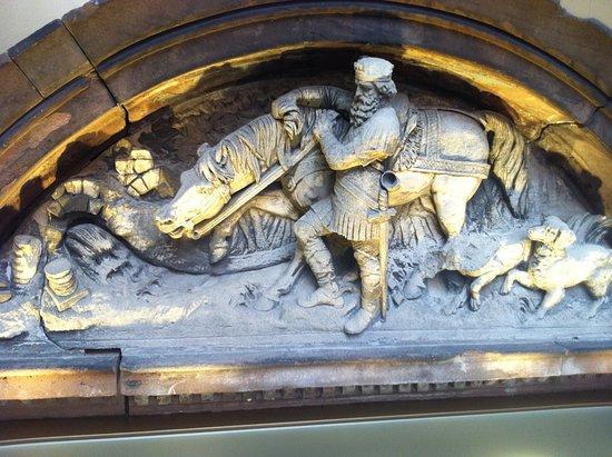Centre Charlemagne: ornament uit kerk
