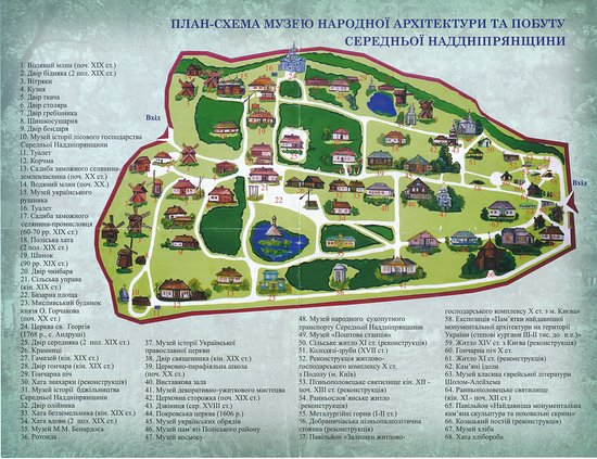 Pereiaslav-Khmelnytskyi, Ucrania: Layout of the museum