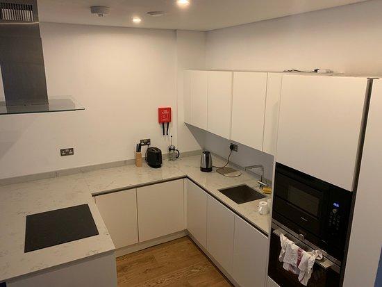 Room 102 - Kitchen area