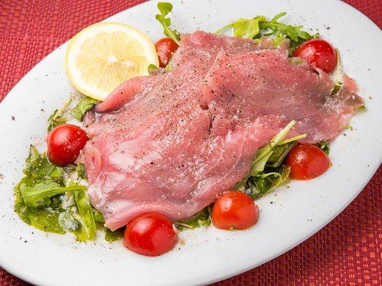Gusti Giusti Cucina Italiana: Carpaccio di tonno