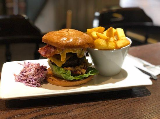 Fully loaded burger