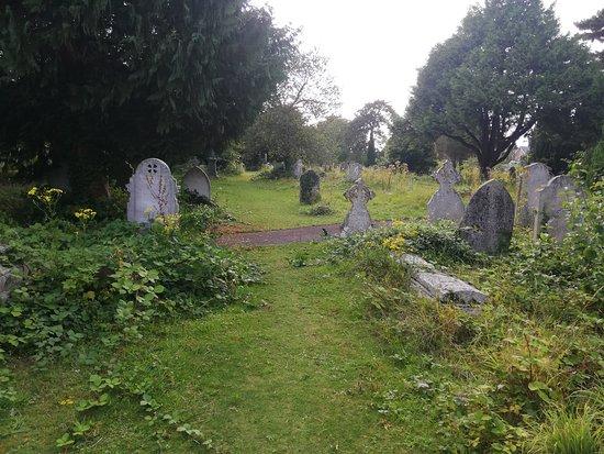 Бейзингстоук, UK: 20-06-2019_Holy Ghosts Cemetery_16