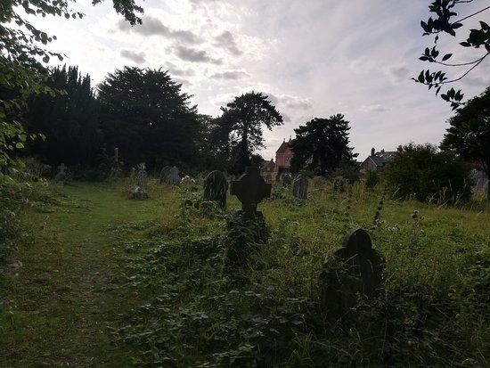 Бейзингстоук, UK: 20-06-2019_Holy Ghosts Cemetery_19