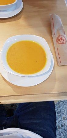 deliciosa sopa del dia de verduras