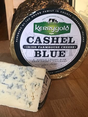 Cashel Blue cheese from Ireland