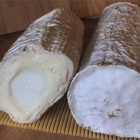 Bucheron, French goat cheese