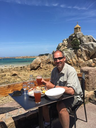 Fruits de mer and beer!