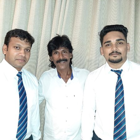 Treebo Trend Goodland Residency: The man with a large heart who has given a bundle of clothes to flood affected victims in Kerala, Mr Noushad has visited my hotel Goodland Residency for his own official purpose. Feeling happy.
