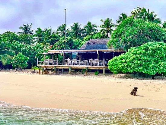 Mounu Island, Tonga: Dining area
