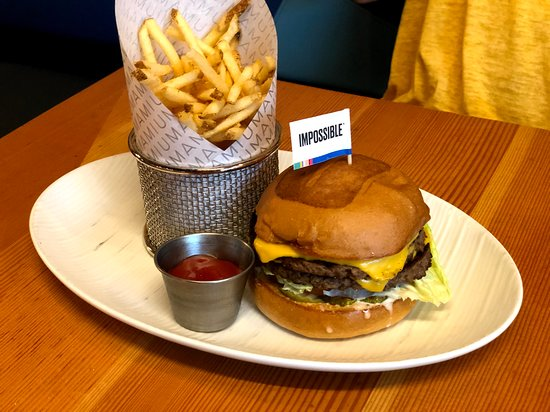 Yummy impossible burger