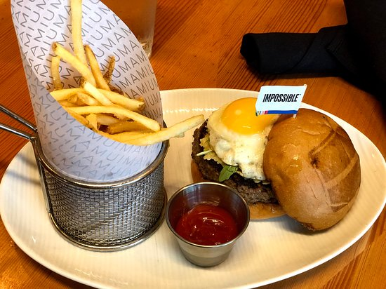 Sunny side up impossible burger
