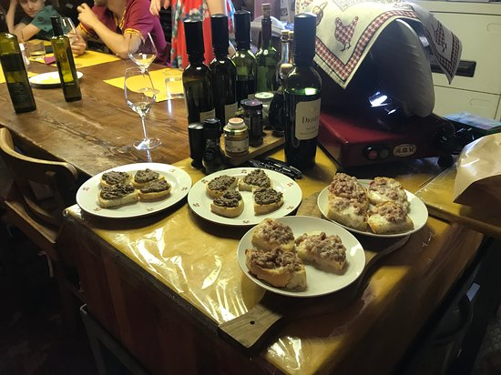 Чертальдо, Италия: Our pairings
