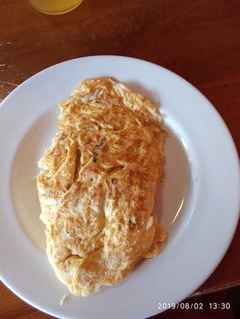 Omelette morue