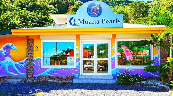 Paopao, เฟรนช์โปลินีเซีย: Visit our Pearl store on the island of Moorea located in the famous Cook's bay. Call 40565073 or 87286858 for free transportation to visit our Moorea Pearl Store.