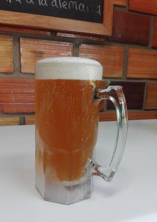 La Chela: Cerveza en chopp de 1L !!!