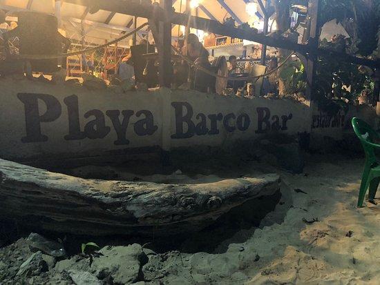 Playa BarcoBar: Si cena in spiaggia a 2 passi dal mare
