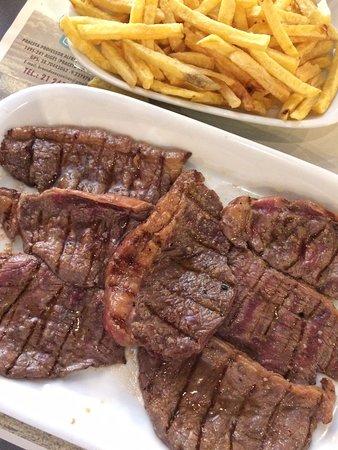 A carne é o ponto forte