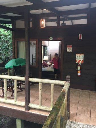 Hotel familiar en la selva
