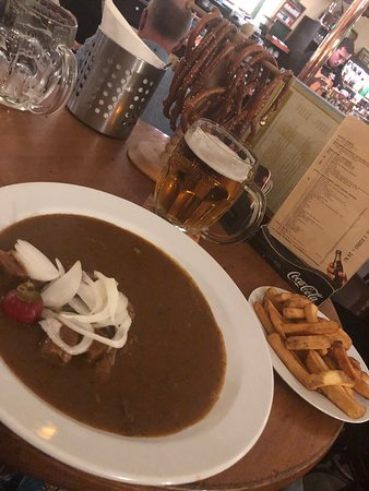 Busy pub - Picture of U Vejvodu, Prague - Tripadvisor