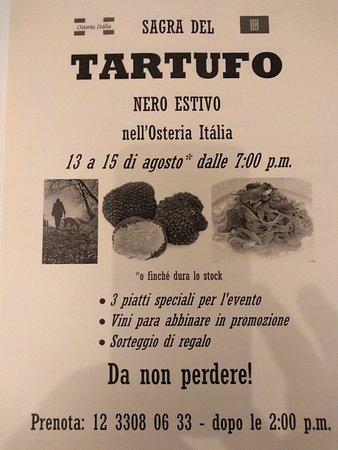 Sagra del Tartufo 2019.