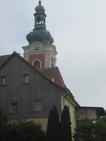Kirchturm der Pfarrkirche St. Laurentius (1)