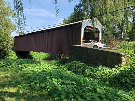Small-Group Strasburg Covered Bridge Tour by Single-Seat Scooter: Covered bridge