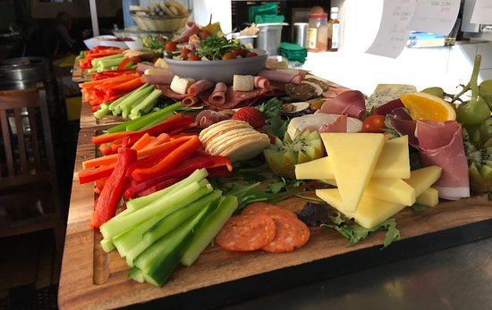 Grazing board for a function