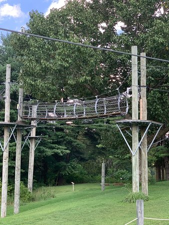 Hocking Hills Canopy Tours: Dragonfly Zipline Adventure FOR KIDS