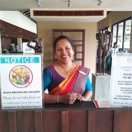 Miss Roshini The BEST Restaurant  & bar manageress