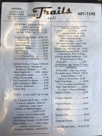 Tioga Trails Cafe