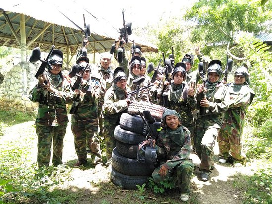 Jimbaran Hill Paintball by Bali Paintball Arena: Let's do it.