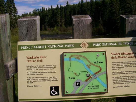 Waskesiu River Trail