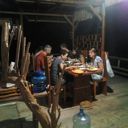 Central Sulawesi, Indonezja: Nice dinner at the cotagges in togean island