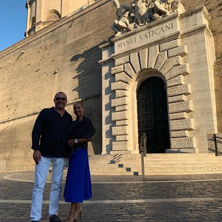 """""""Exclusive Opening of Vatican"""" by Milo Tours for our very special guests Paul & Elly"""