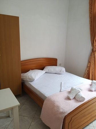 To our hotel the guests will find two kind of rooms: apartment 4 pax and a double room without a kitchen.the room is fully equipped with air conditioner ,flat tv a table,a chair and a fully equipped toilet