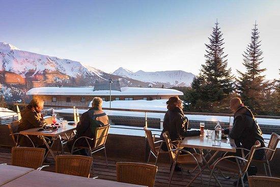 Terrasse du Restaurant Le Bachat - Chamrousse