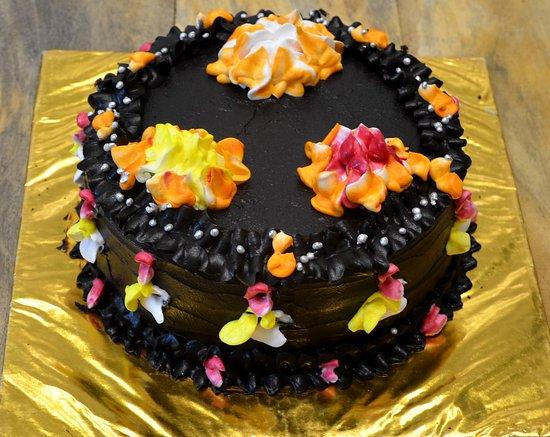 Tremendous Birthday Cake Picture Of Kiran Cafe Restaurant Swiss Bakery Funny Birthday Cards Online Fluifree Goldxyz
