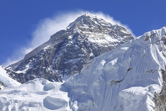 "Mount Everest is top of the world  8848m from the sea level !!! Who would not want to reach to top of the world ? your dream will come in true one day . it's the trip of the lifetime never give up guys  all the best .   Mount Everest is also called Chomolangma, meaning ""Goddess Mother of Snows"" in Tibetan and"