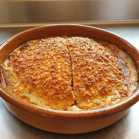 Crep de Merluza de nuestro menú francés de los martes de Agosto