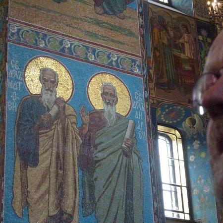 stage4russia: Mosaik in der Blutskirche.