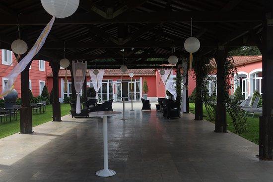 Santo António da Serra Machico, Portugal : abri extérieur pour réception