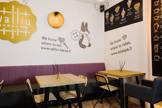 Waffle bar in Mikalojaus str. 7